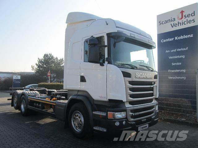 Scania R410 6x2MNB HIGHLINE BDF 7,15-7,45 ScrOnly