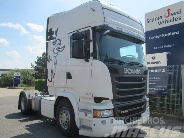 Scania R520LA4x2MNA TOPLINE 2K HYDRAULIK V8