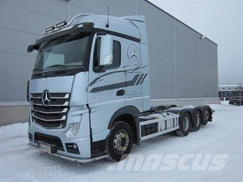 Mercedes-Benz Actros 3563 8X4*4