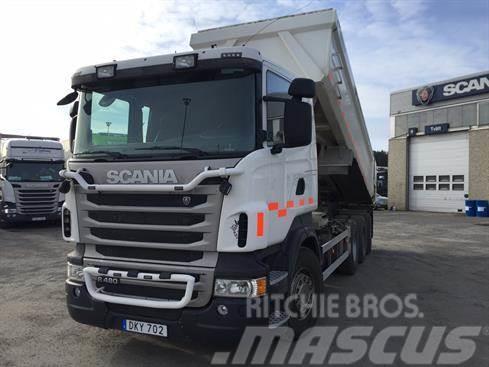 Scania 8x4*4 Tridem Dumper