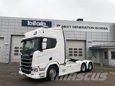 Scania R 580 A6x2NB Dragbil