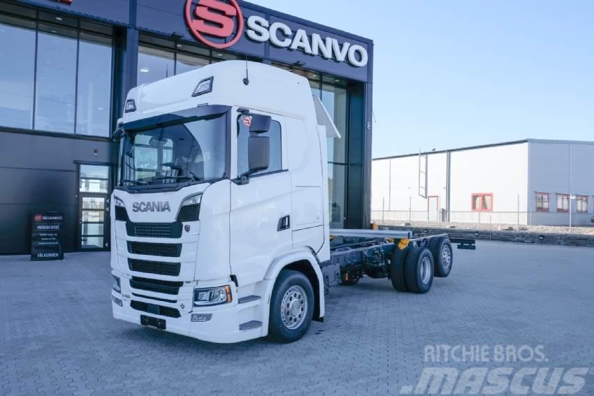 Scania Nytt S 580 chassi omg. leverans!