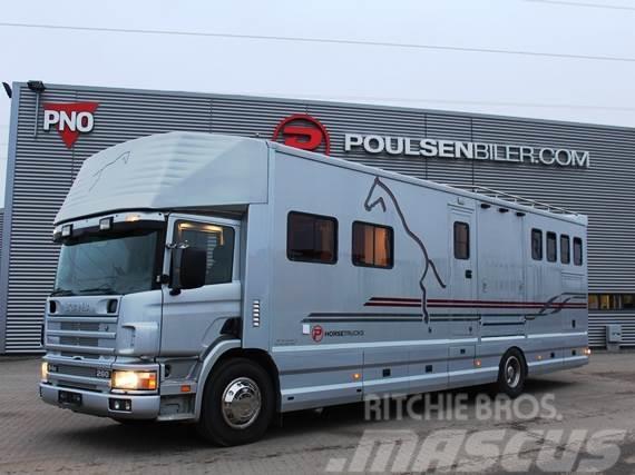 Scania P 94 Hästbil 6 hästars årsmodell 2001 MOMSFRI
