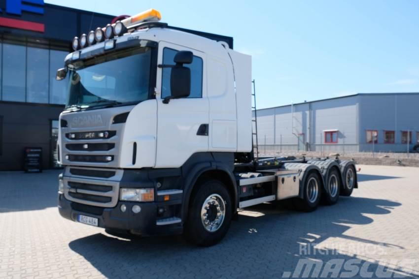 Scania R 480 Tridem Lastväxlare