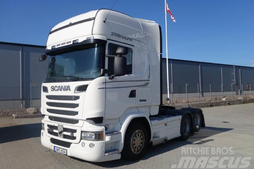 Scania R 520 manuell växellåda 2015