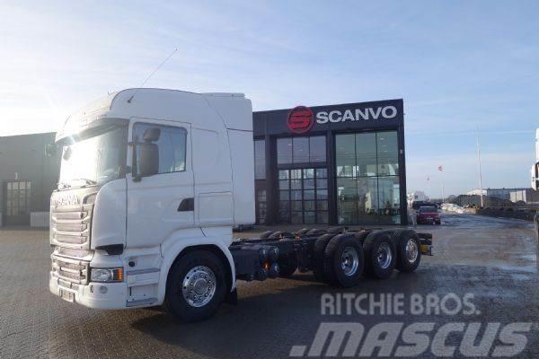 Scania R 580 8x4-4 Tridem Highline