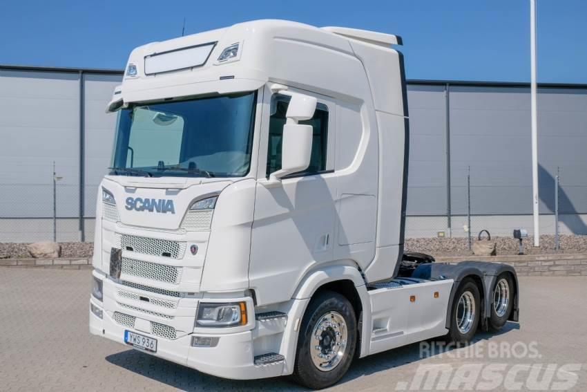 Scania R520 6x2 V8 Hydraulik för SIMA