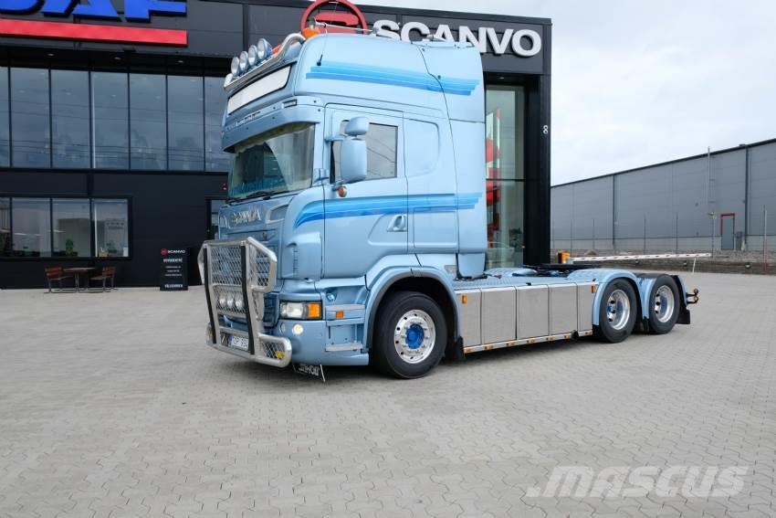 Scania R620 6x2 Topline Euro 5 Hydraulik
