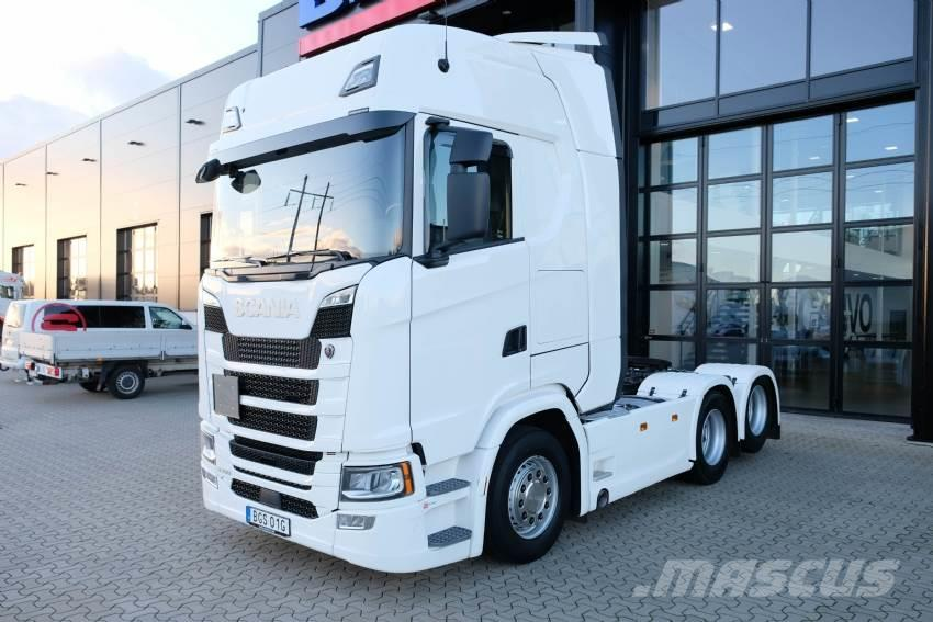 Scania S 500 6x2 dragbil 15 600 mil