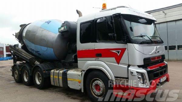 Volvo FMX 460 Betongroterare 8,5 kubik