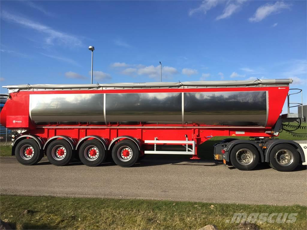 AMT TA400 35m3 alu. kasse med Hardox indlæg og isolere