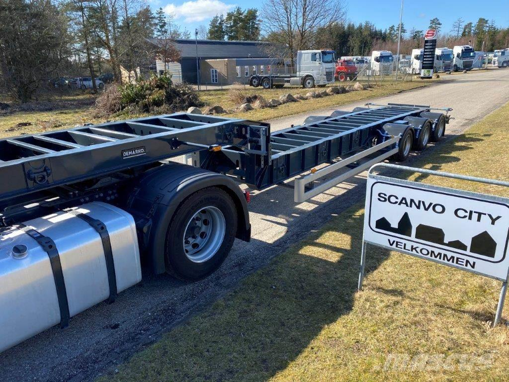 B-xl 13,6 mtr lavt bygget chassis
