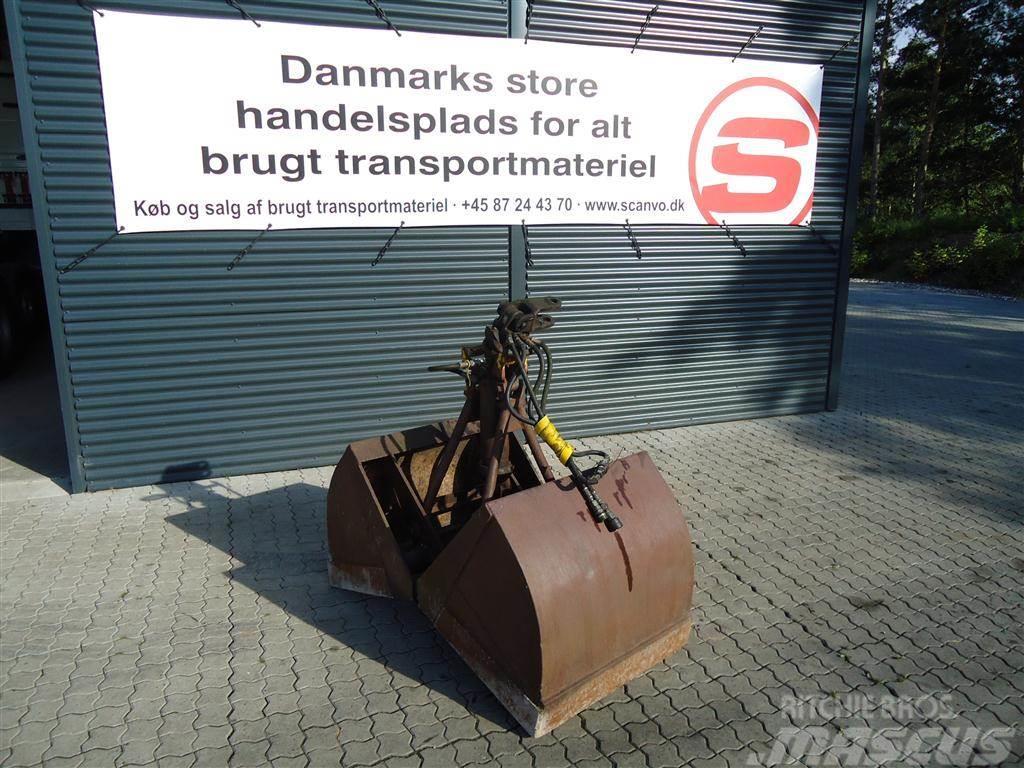 BSV 500 L jordgrab u-rotator
