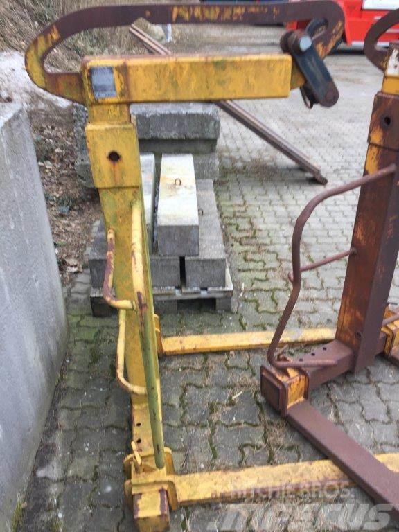 BSV pallegaffel stilbar PG100 - 2 SSB 2000 kg