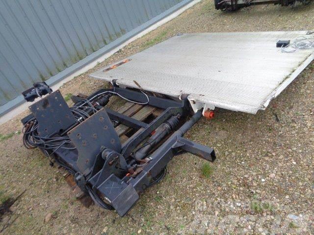Dhollandia 1500 kg komplet lift m- alu liftplade