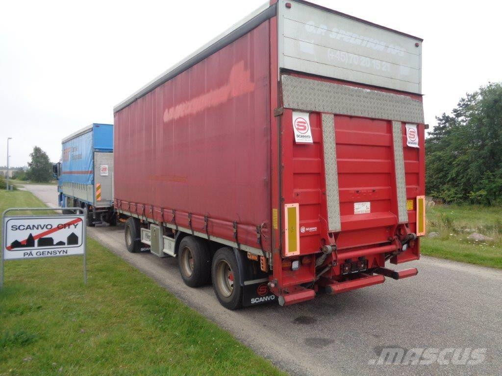 Fliegl 7,5 m. med lift