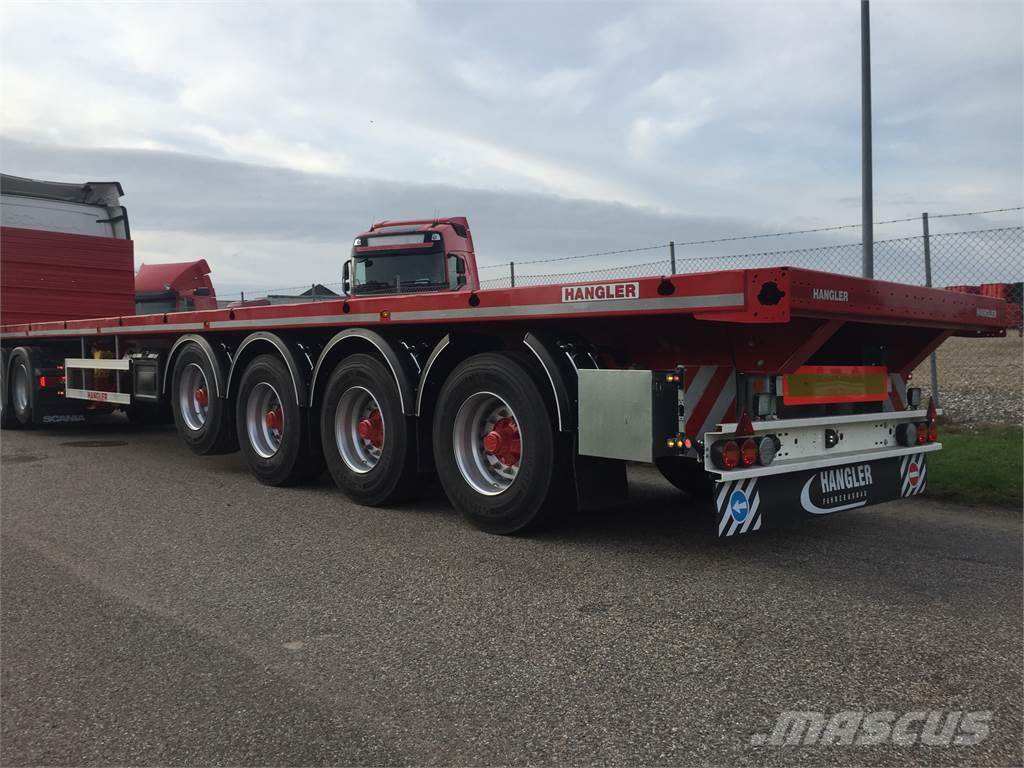 Hangler SVS 480 RH 200 4 akslet sværlast ligeud trailer