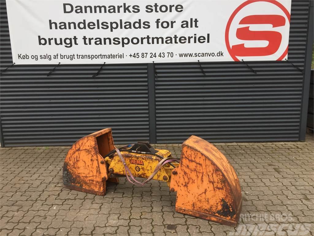 Hema ca 250 ltr lukket jordgrab - 350 mm bred