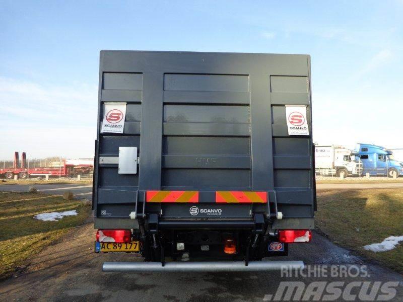 HMF 2500 kg lodretstående liftplade