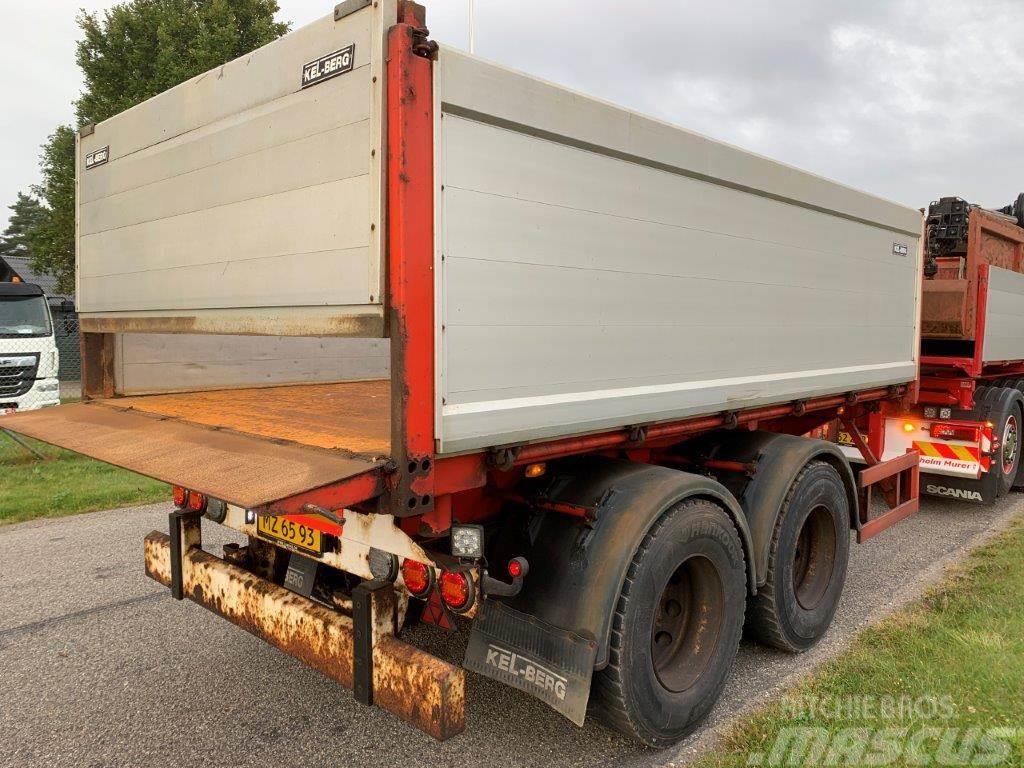 Kel-Berg 13m3 - 18 ton - 3 vejs