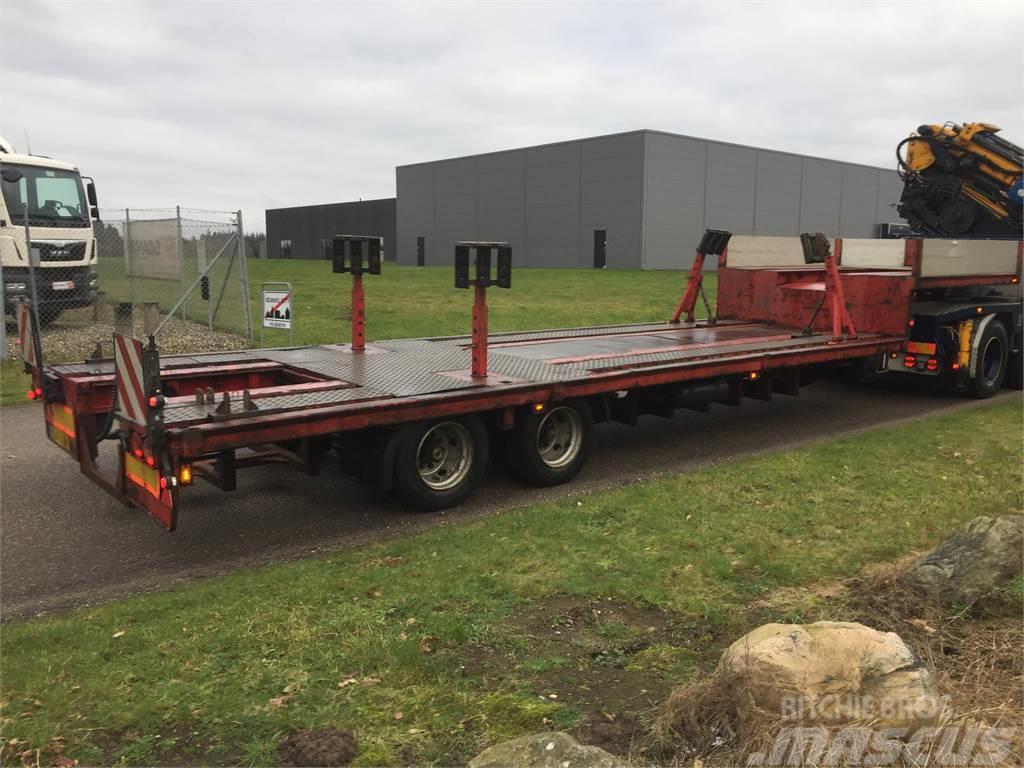 Nopa 2 akslet båd trailer med kølgrav