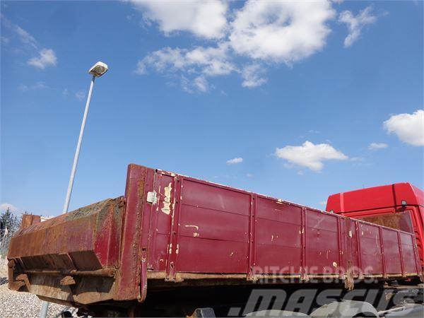 [Other] 5,3 mtr. - 600mm alu sider aut bagsmæk