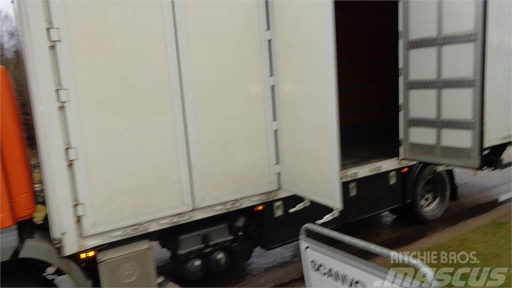 [Other] 8,6 mtr alu kasse med sideåbning til lift
