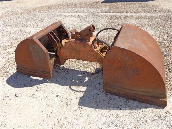 Used Jordgrab M Faste Endegavle Load Handling Accessories