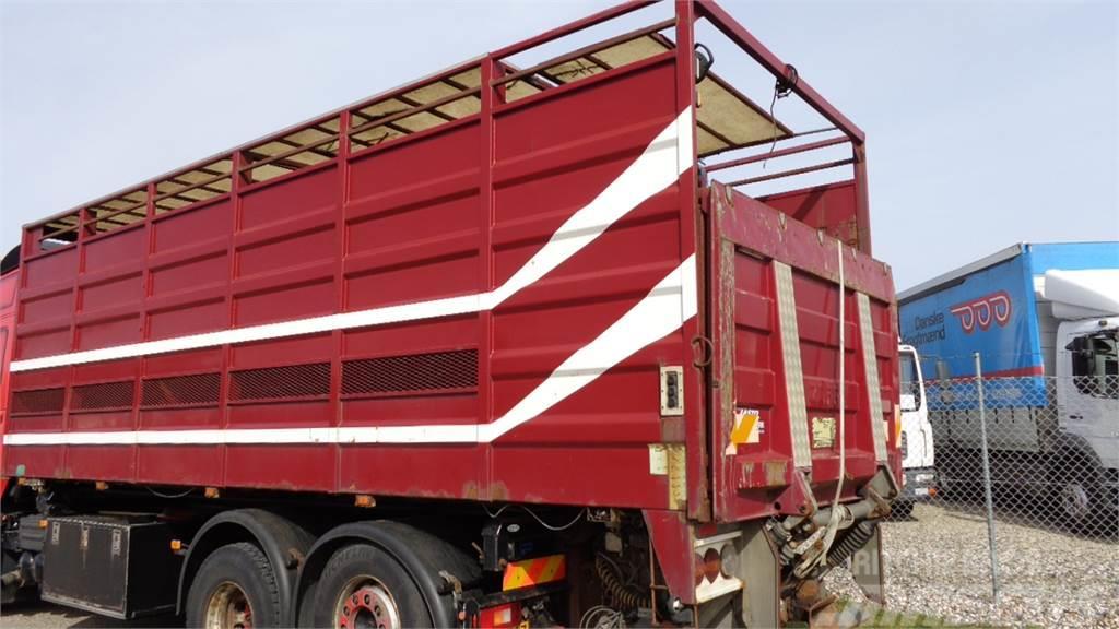 [Other] Lasto 7,6 mtr dyretransport m-dobbelt dæk og læsse