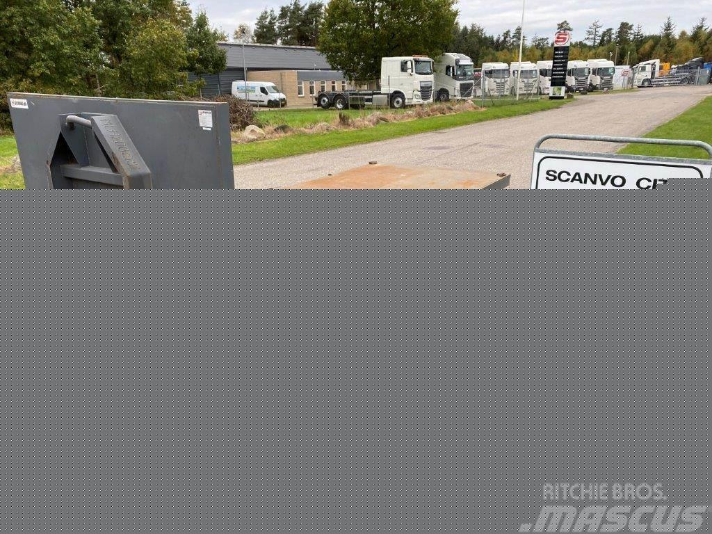 [Other] Scanvo 6200mm Maskinlad på hejselads ramme