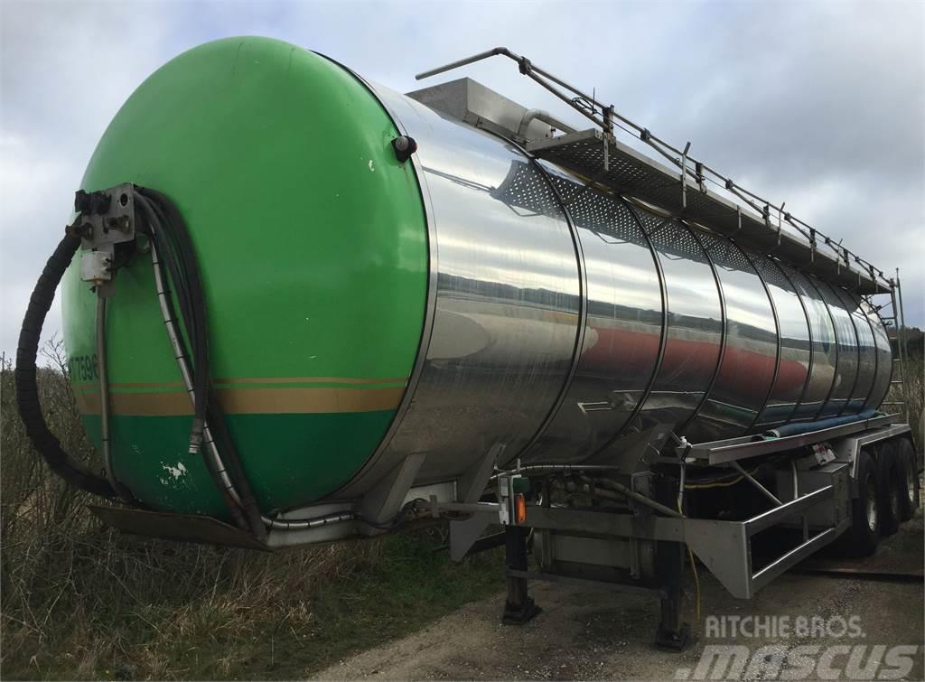 Ros Roca SA 33595 ltr isoleret rustfri tank 4 rum