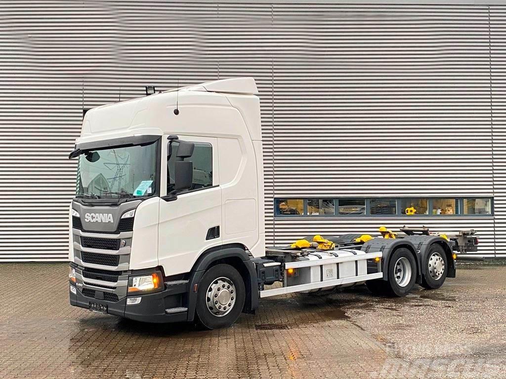 Scania R450 7820 mm Veksellad