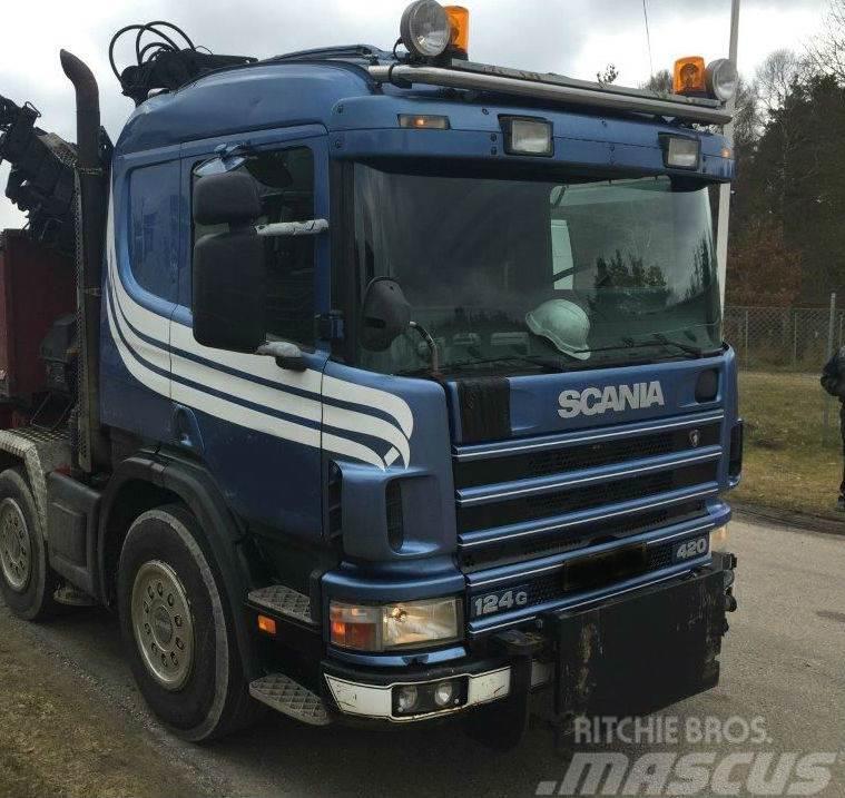 Scania sneplovs ophæng komplet 4-serie
