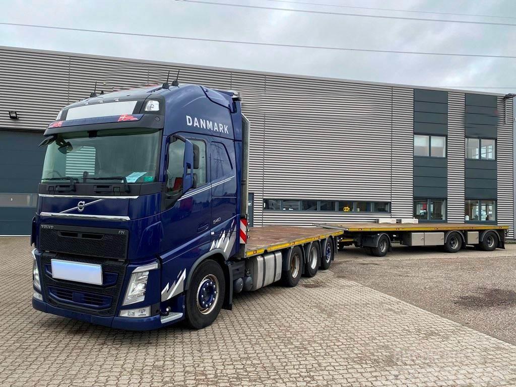 Volvo FH540 8x4*4 + 3-aks HFR anhænger