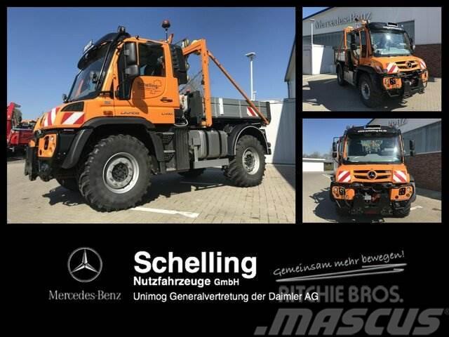 UNIMOG U 430 - Scharmüller K80 - LS - Vario Pilot -