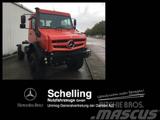 UNIMOG U 5023 - 4x4 - Wohnmobil - Fernreise - Kran
