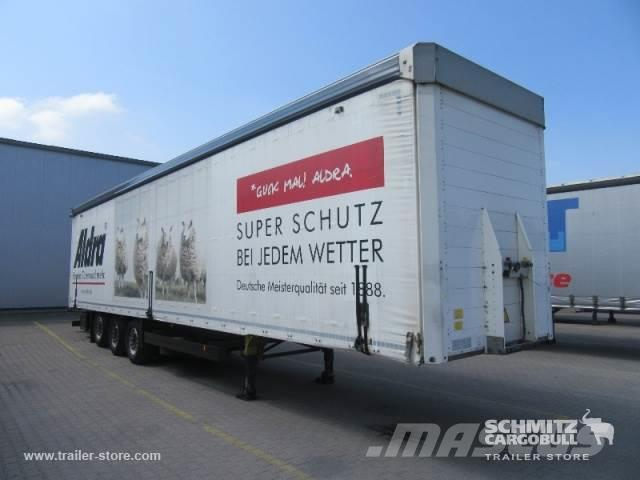 Schmitz Cargobull Curtainsider Mega Staplerhalterung Getränke