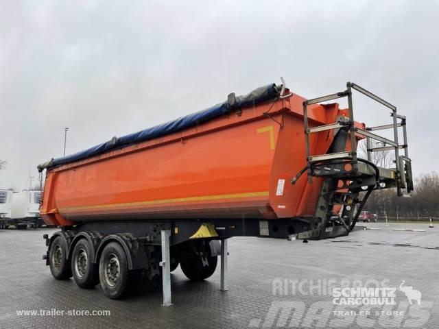 Schmitz Cargobull Kipper Stahlrundmulde 27m³