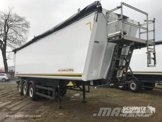Schmitz Cargobull Kipper Alukastenmulde 52m³