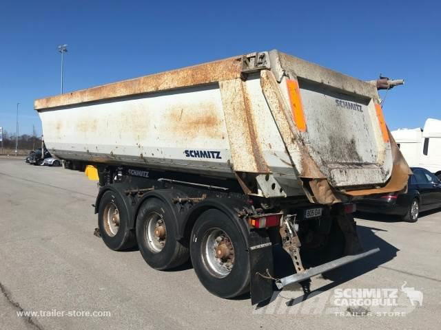 Schmitz Cargobull Tipper steel half pipe body