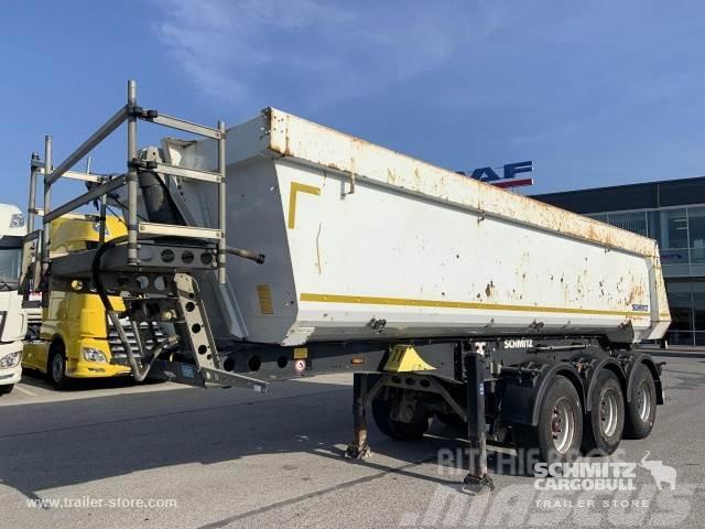 Schmitz Cargobull Tipper Steel half pipe body 24m³