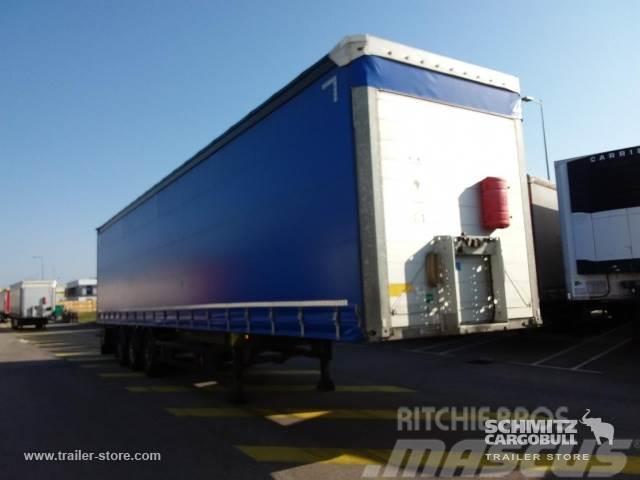 Schmitz Cargobull Rideaux Coulissant porte-bobines