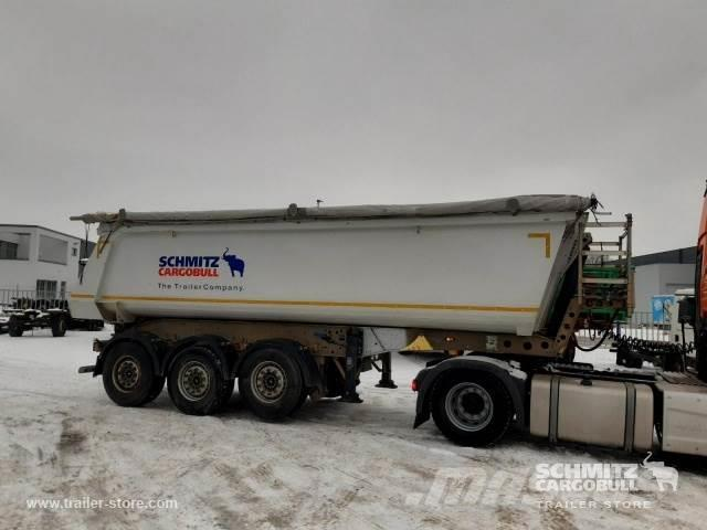 Schmitz Cargobull Tipper Steel half pipe body 28m³