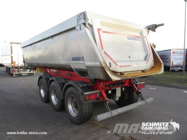 Schmitz Cargobull Tipper steel half pipe body 24m³