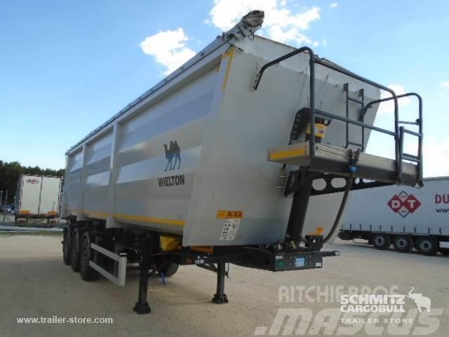Wielton Tipper Steel-square sided body 56m³
