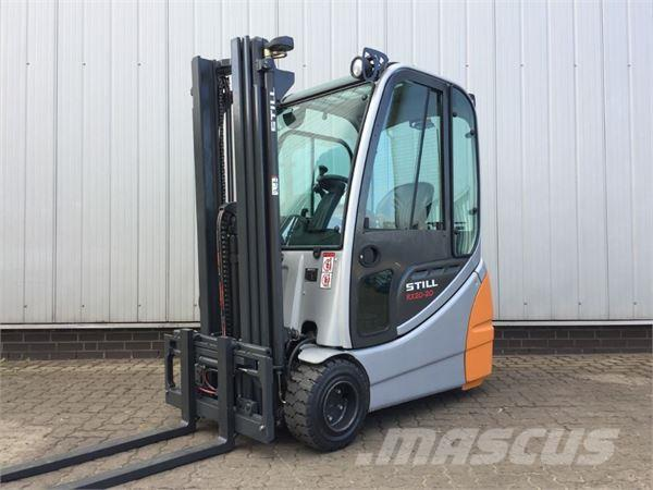 used still rx20 20 batterie 2013 electric forklift trucks. Black Bedroom Furniture Sets. Home Design Ideas