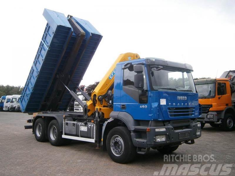 Iveco 6x4 grue 27tm longueur 20m hauteur 22metres Type d