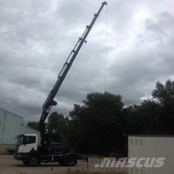 [Other] tracteur scania4x2 grue 42tm +treuil p380 4x2 grue