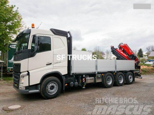 Used Bucket Trucks >> Used Volvo Fh 540 Crane Trucks Year 2019 For Sale Mascus Usa
