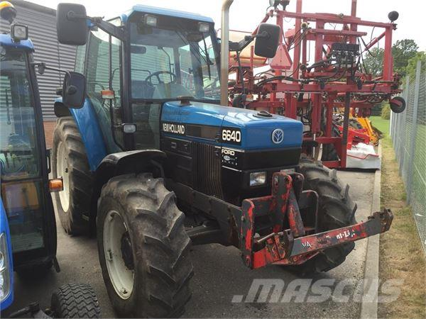 New Holland Ford >> Ford New Holland 6640 Sle